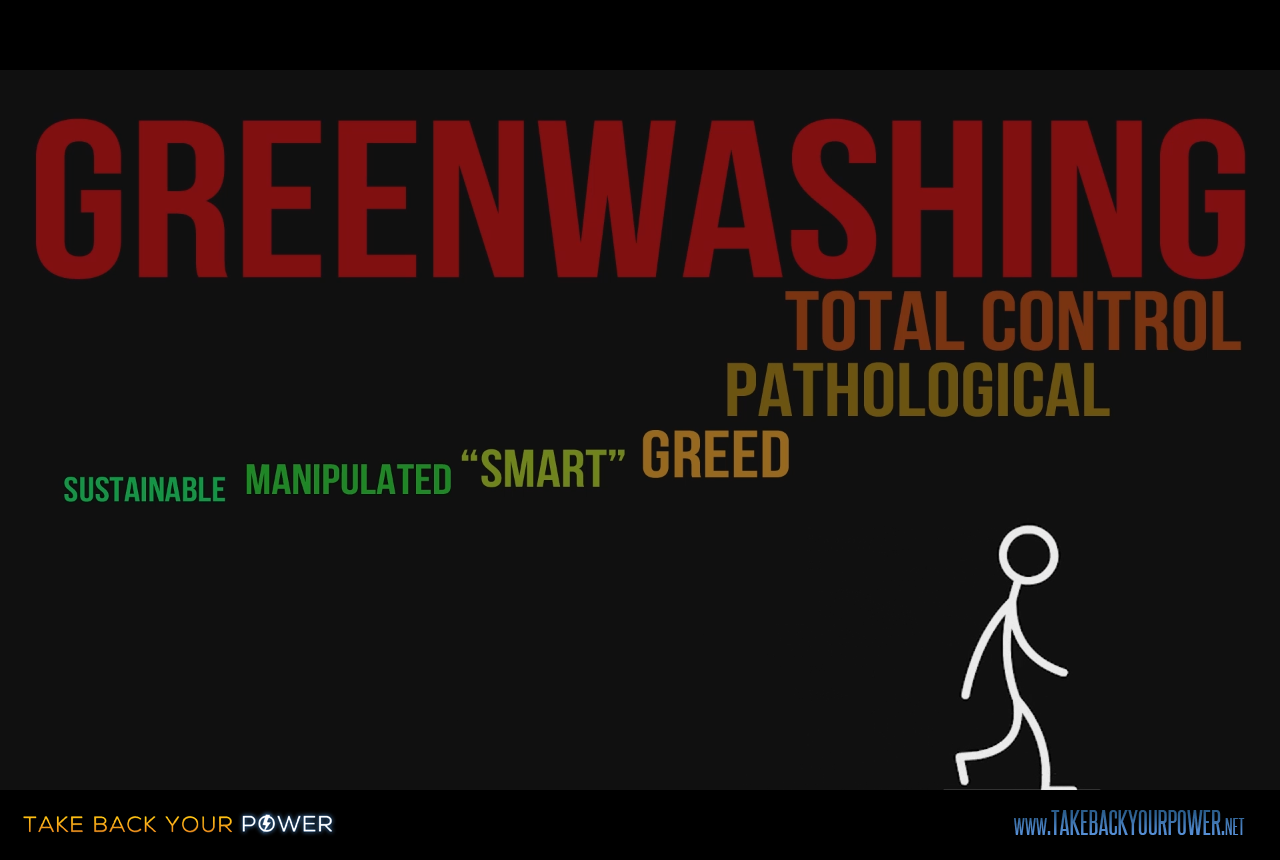 """""""Smart"""" power grid, or greenwashed enslavement grid? (scene from Take Back Your Power)"""