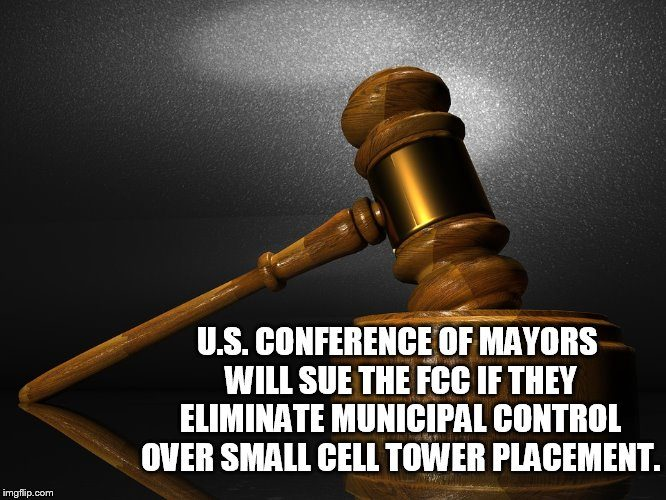 City mayors threaten to sue FCC over 5G